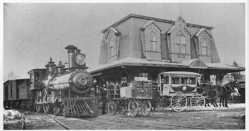 Torrington Train Station  from 1870